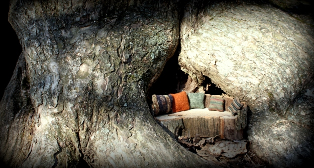 tree couch for a treehouse