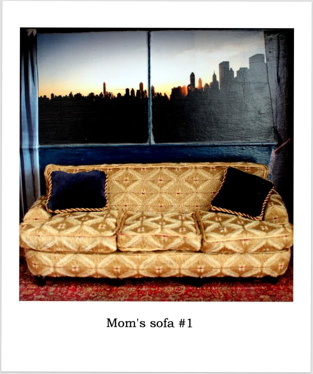 Mom's sofa #1